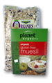 Certified Organic Oats and Muesli